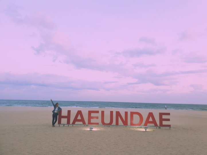 Haeundae beach, Busan Korea